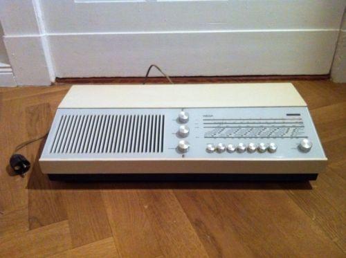 liebhaberst ck wega receiver radio modell 142 in weiss in berlin friedenau ebay. Black Bedroom Furniture Sets. Home Design Ideas