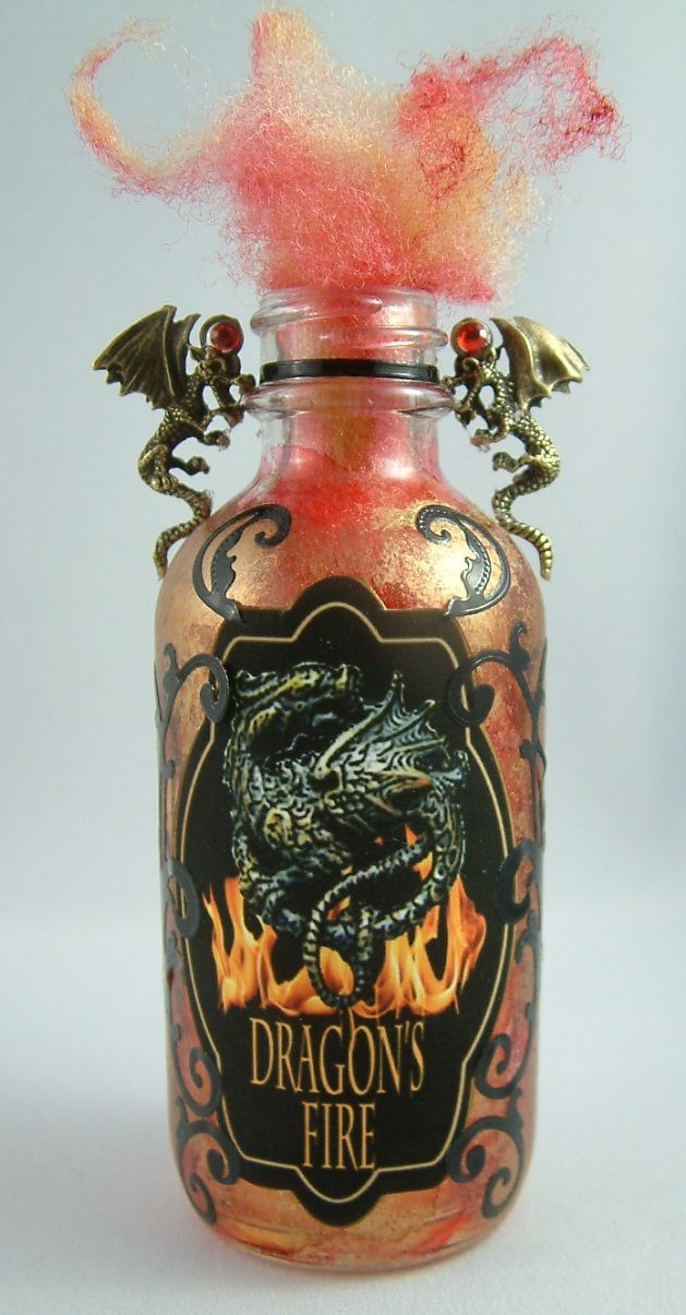 Dragon's Fire - Join me at Artfully Musing in September 2012 for the Pretty Potions and Poisons Apothecary Event