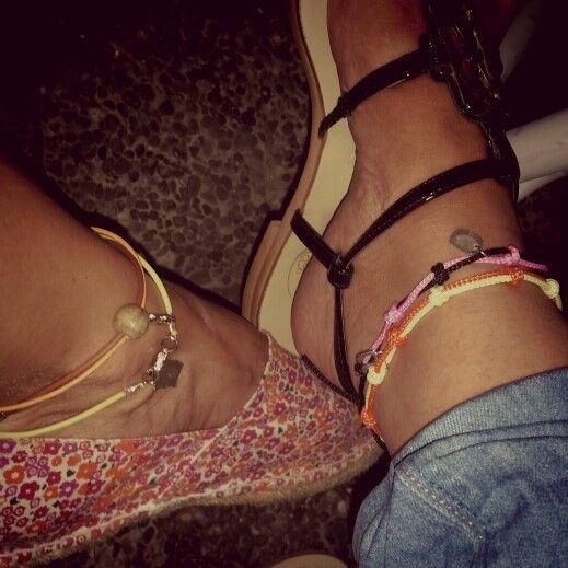 #summertime #greek_summer #artepovera #arte_povera #handmade #colors #feet #girly #alternative #fashion #jewelry