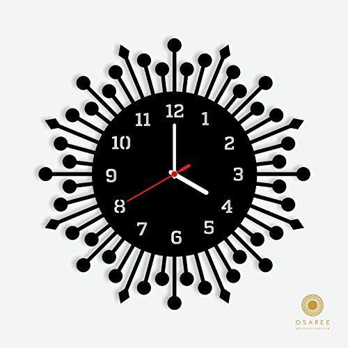 Amazon.com - Round Geometric Wall Clock -