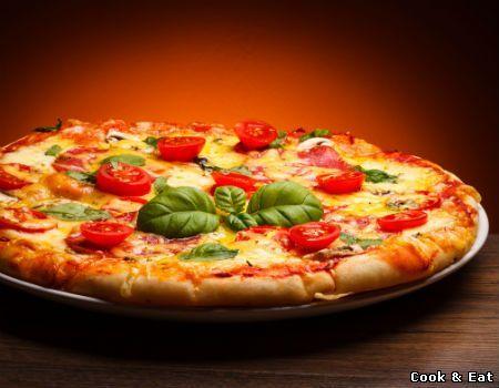 """Рецепт Пицца на скорую руку - Основные блюда - Cook and Eat"""""""