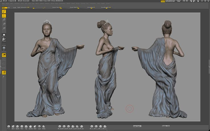 Character Design Zbrush Tutorial : Selwy � zbrush clothes tutorial thedruid refimgs