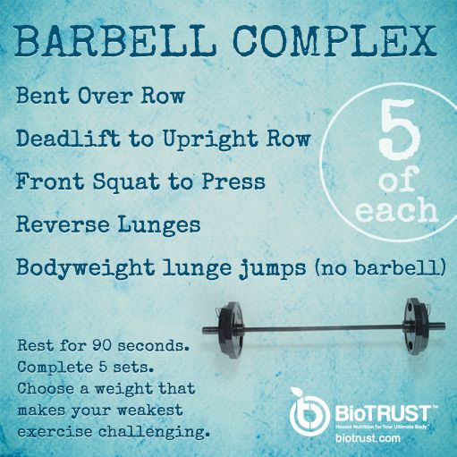 #Barbell Complex
