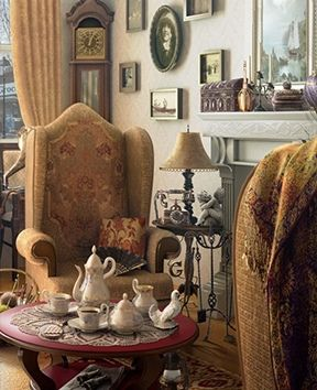 Come have a cup of tea at the quaint little cottage.