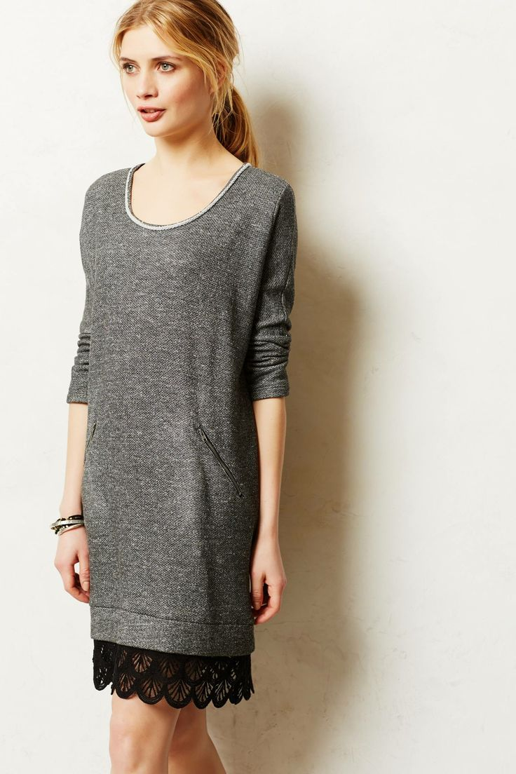 A tunic done right.  Casual, feminine, and flattering.