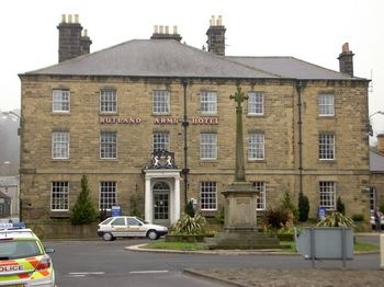 Rutland Arms Hotel in Bakewell, England. Click on the link below for more!