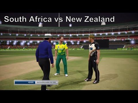 South Africa vs New Zealand / Ashes Cricket 2017 / AI vs AI - (More info on: https://1-W-W.COM/Bowling/south-africa-vs-new-zealand-ashes-cricket-2017-ai-vs-ai/)
