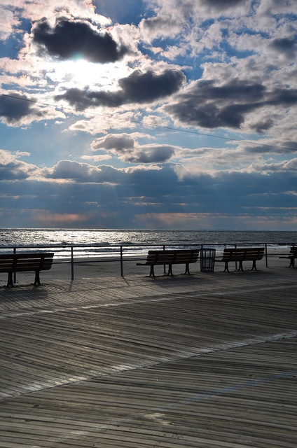Long Beach, New York. I remember walking on that board walk all the time..such a shame part of it was destroyed in Sandy