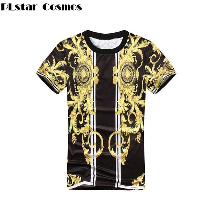 PLstar Cosmos 2017 New Summer fashion t shirt Men/Women Creative sun Medusa Print 3d t shirt hip hop t shirt Harajuku clothes  #Affiliate