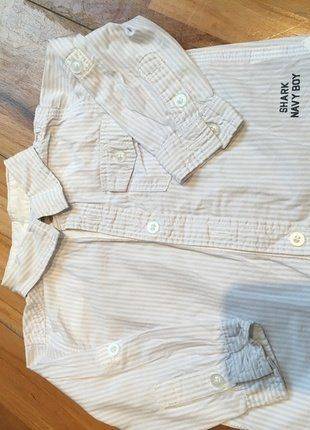 À vendre sur #vintedfrance ! http://www.vinted.fr/mode-enfants/chemises-et-t-shirts-chemises-manches-longues/36118988-chemise-de-marque-tex-baby