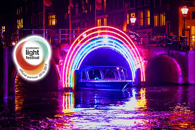 Amsterdam Light Festival - Water Colors Cruise with Blue Bat Company