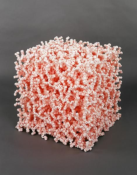 Tom Friedman, Untitled. Medium: packing peanuts.