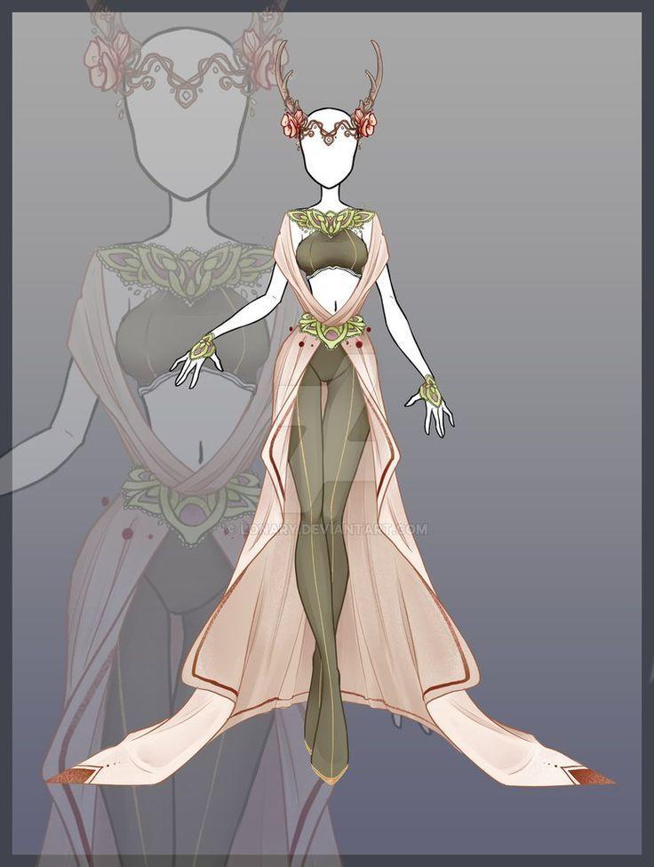 [Open] Design adopt_109 von Lonary – Fantasy Fashion – # adopt109 #Design #FANT