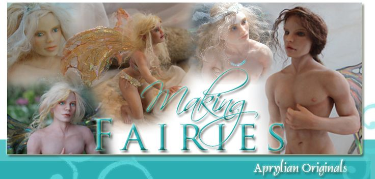 Great tutorials and free newsletter filled with tips and tricks for making amazing fairies and sculptures