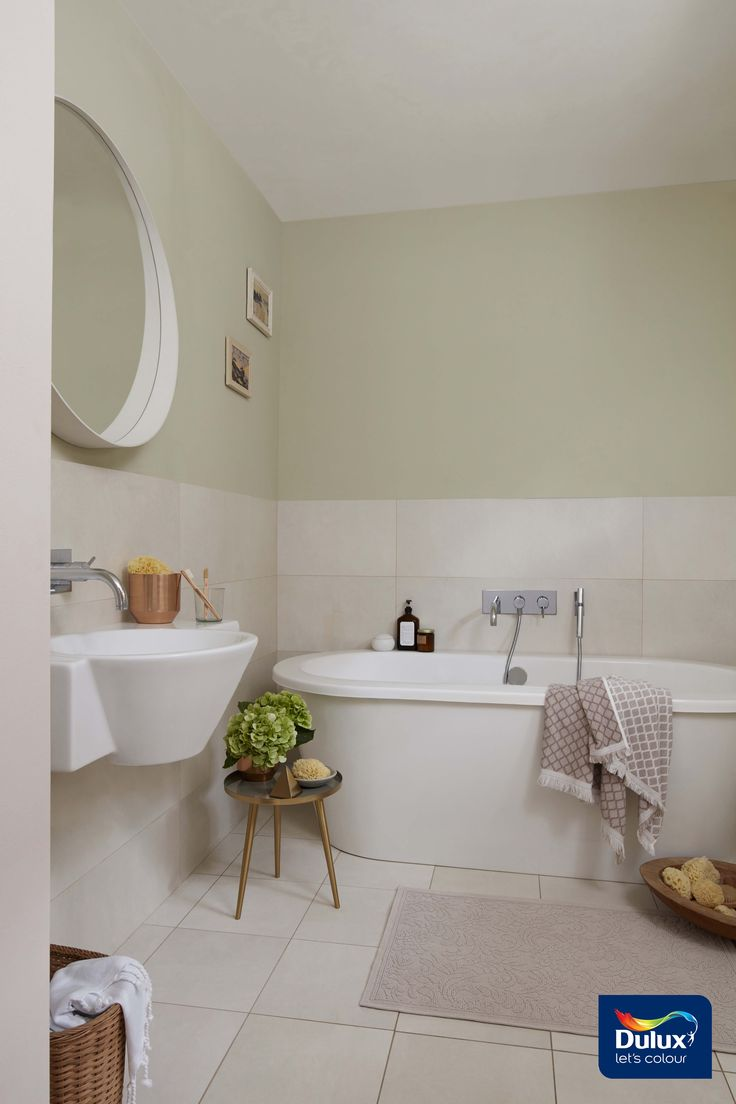 Do You Have A Small Bathroom But Still Want A Beautiful Colour Scheme Click Here To Fi Bathroom Color Schemes Kitchen And Bathroom Paint Small Bathroom Colors