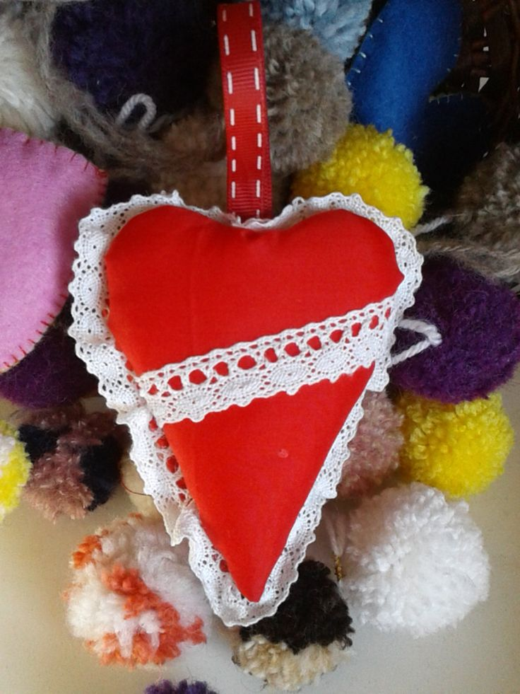 valentine red heart gift  lover girls, boys, hanging decor keys,Christmas tree, colorful heart ,wedding personal gift ideas guest favor by BrillianceDecor on Etsy