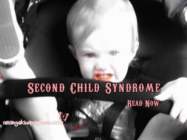 Do you parent your second child with the same gusto you did with your first? If not, then they may suffer from Second Child Syndrome! Or do we simply stress less, step back and realise what's really important this time?