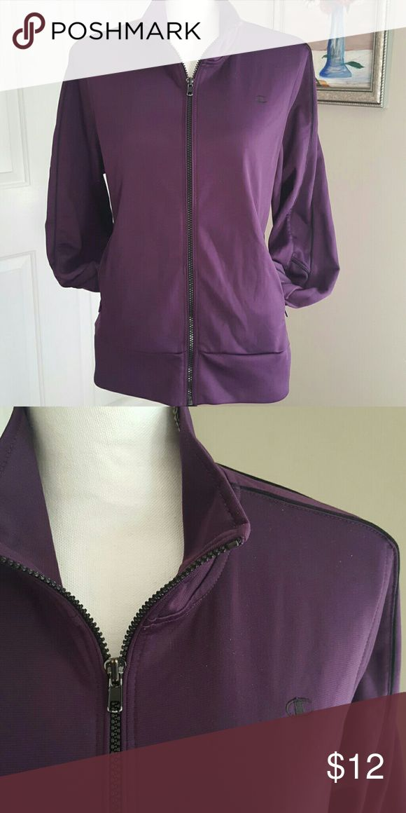 Champion Zip Sportswear Jacket Deep purple zip Champion Sportswear Jacket 2 pocket Champion  Tops