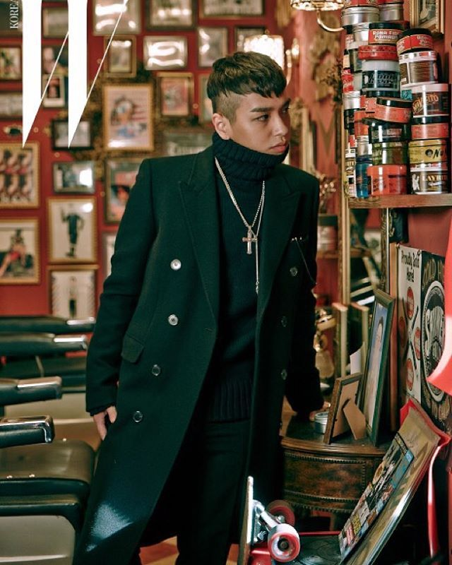 W & ONLY Simon Dominic... men's coat with turtleneck