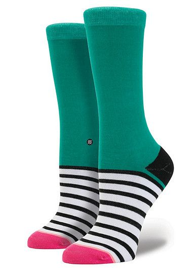 STANCE Mad Dog - Socken für Damen - Grün - Planet Sports