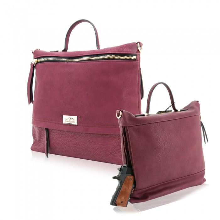Usually ships in 1-2 business days. Cameleon Concealed Carry Handbags...... because self-defense should never go out of style! There are over 20 million women in the United States that own their own f                                                                                                                                                                                 More