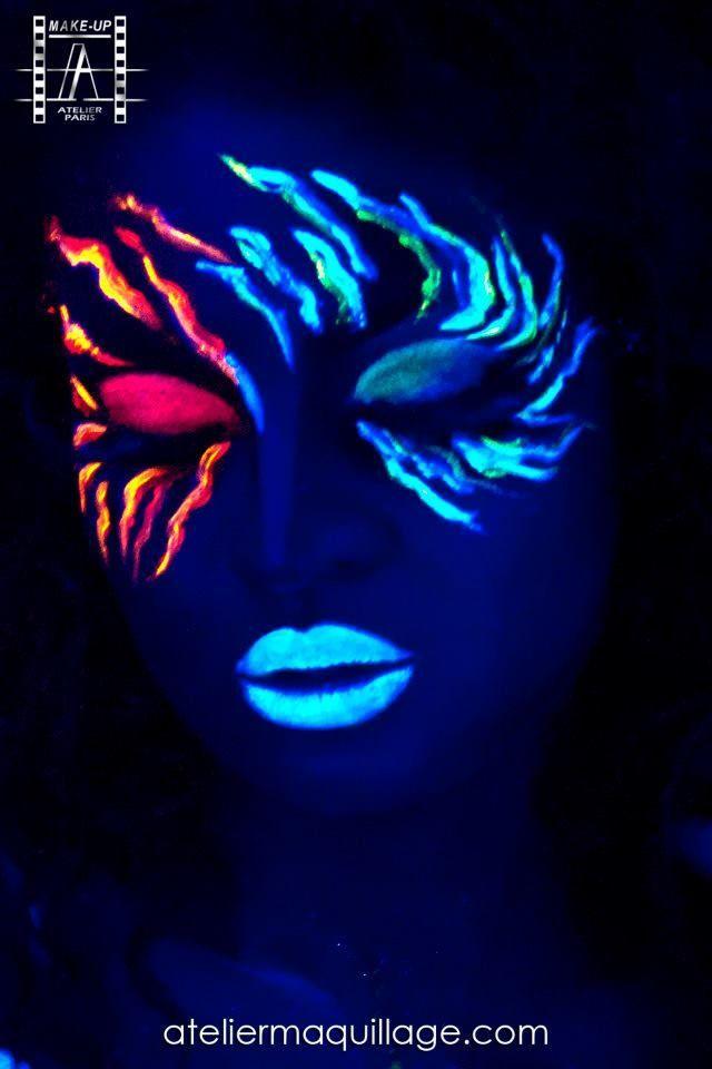 1000 ideas about uv makeup on pinterest black light for Black light room paint