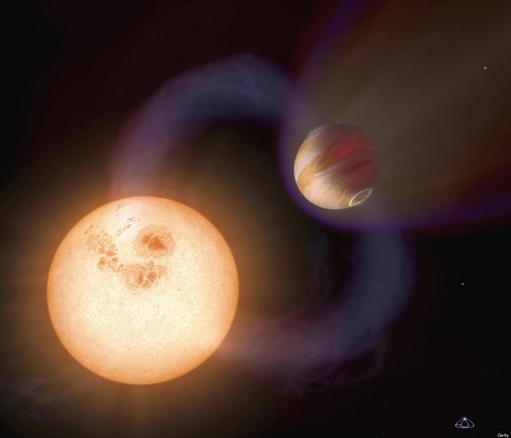 A unique type of exoplanet discovered with the Hubble Space Telescope.