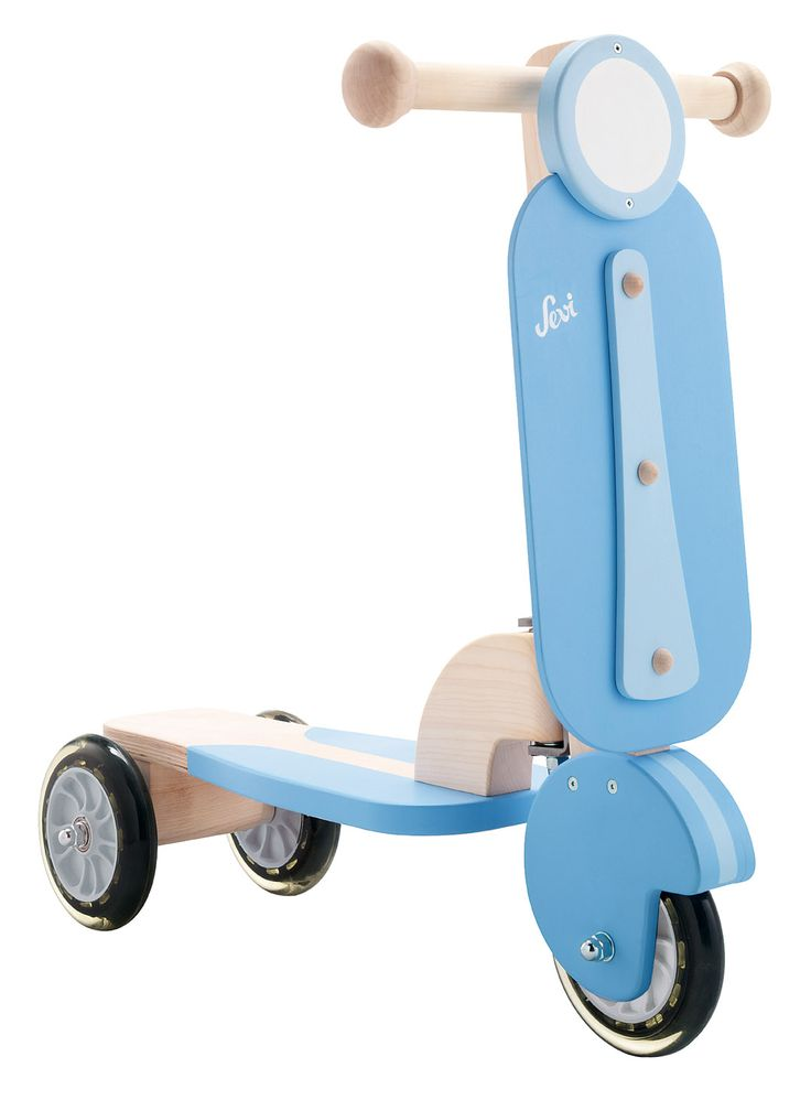 Scooter Blue -  This is a perfect ride on toys for your kids.