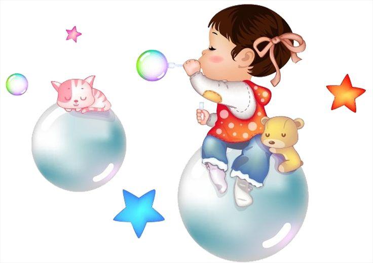 Картинки с мыльными пузырями мультяшные