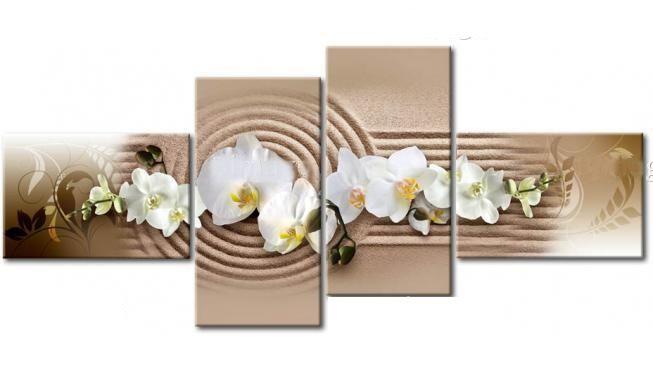Peinture décorative florale