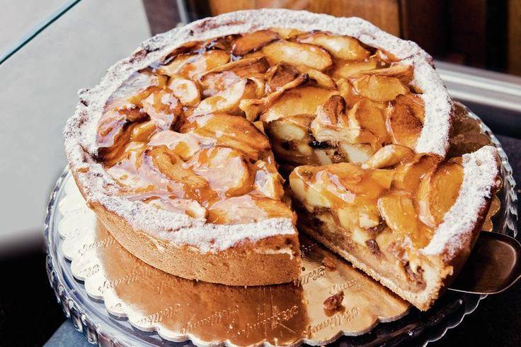 Kijk wat een lekker recept ik heb gevonden op Allerhande! Ouderwets lekkere appeltaart
