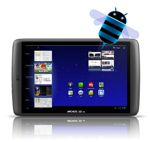 Archos 101 g9, Android 3.2 low cost