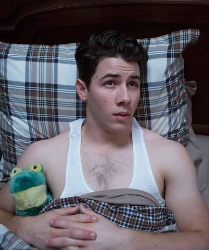 The Shirtless Nick Jonas Scream Queens GIFs You Need  #refinery29  http://www.refinery29.com/2015/09/94479/nick-jonas-scream-queens-shirtless-gifs