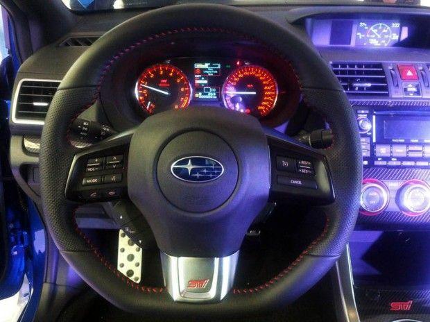 New Review 2015 Subaru WRX STI Specs Interior View Model