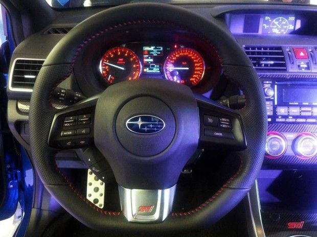 New Review 2015 Subaru WRX STI Specs Interior View Model