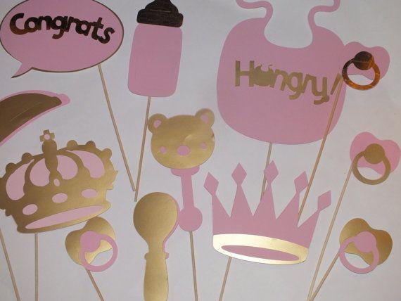 Foto princesa de color rosa y oro stand accesorios accesorios