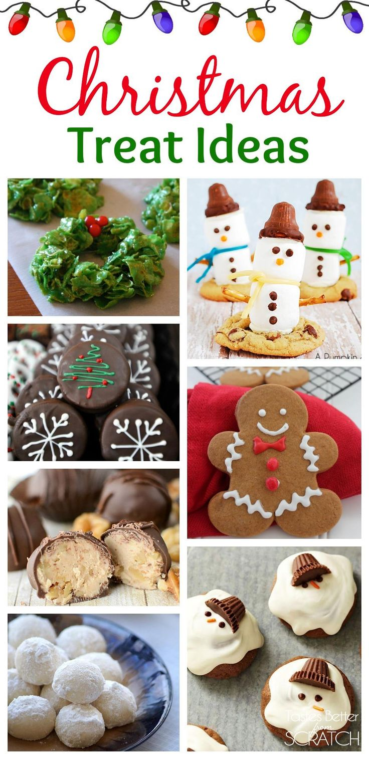 Tons of Fun and Easy Christmas Treat Ideas on TastesBetterFromScratch.com