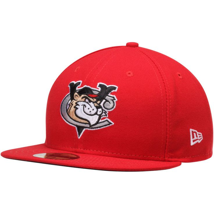Tri-City ValleyCats New Era Authentic Home 59FIFTY Fitted Hat - Red