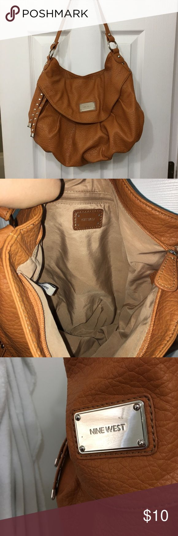 Nine West purse Very good condition, two small marks on Nine West symbol(shown in picture 3), medium size Bags Shoulder Bags