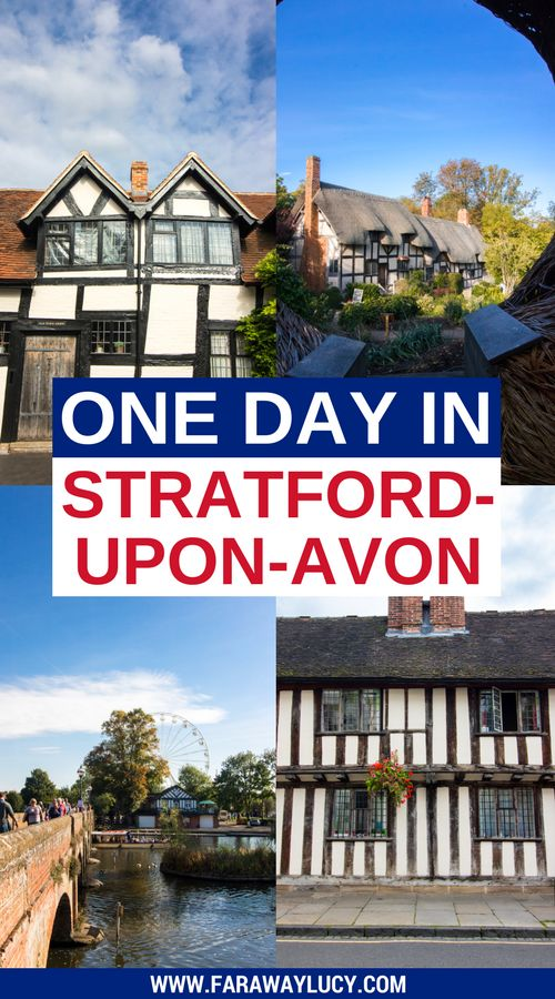 One Day in Shakespeare's Birthplace: Exploring Stratford-upon-Avon in the West Midlands of England. Here is the ultimate guide to visiting Stratford-upon-Avon in only one day -  if you're short on time and want to tick off all the Shakespearean hotspots and most picturesque areas, you've come to the right place! These include Shakespeare's Birthplace, Shakespeare's New Place, Hall's Croft, Anne Hathaway's Cottage, Old Town, the Royal Shakespeare Company (RSC) and the River Avon. Click…