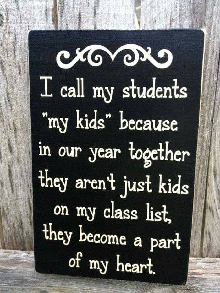 """Before I had my own, biological kids, it was just understood.  Now I have to clarify when I say """"my kids."""""""