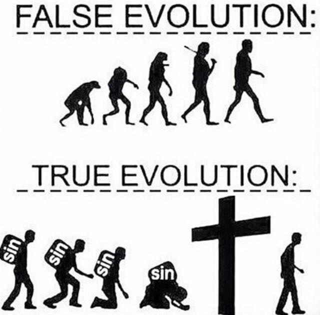 #evolucion #Jesús #Jesucristo #DIOS #biblia #cruz #verdad #vedadero #verdadera #mentira #falso #falsa #DIOSesbueno #confiaenDIOS #DIOSesfiel #palabradeDIOS #consejo #mensajespositivos #fuerzas #pensamientos #feenDIOS #cristovive #creer #DIOSeselcentro #fidelidad #compromiso #confianza #elmensajeco