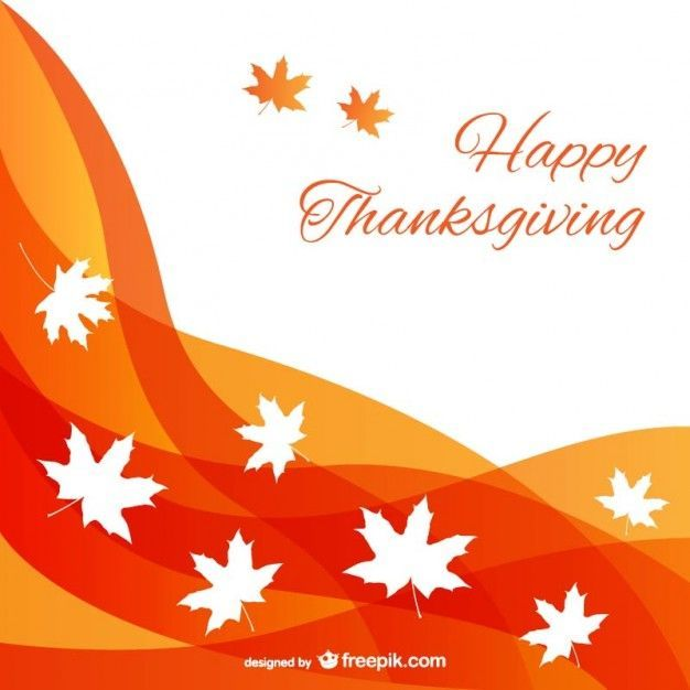 Abstract Thanksgiving background Vector