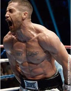 Jake Gyllenhaal Southpaw Workout Program