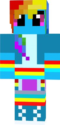 My little pony (skin de Minecraft)