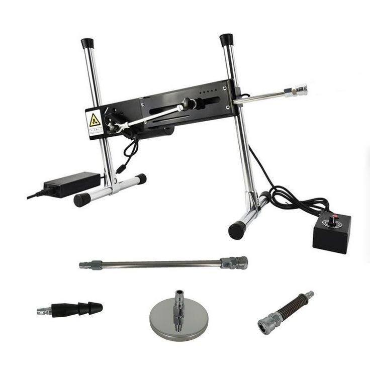 Premium Sex Machine+Flexible connector+Single Vac-u-Lock+Extension Rod+Flat Suct