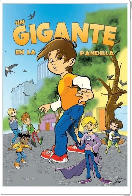 """""""Un gigante en la pandilla"""" (Cómic de Guillermo García-Ramos y Sergi Cardó Siscar)"""