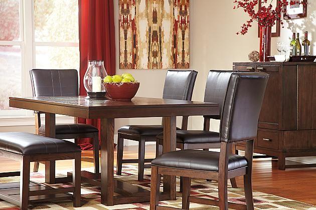 Black And Brown Dining Room Sets Interesting Design Decoration