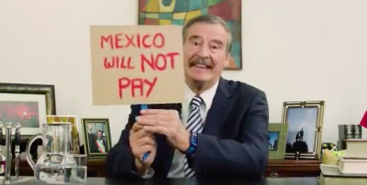 """Vicente Fox has a reminder for President Donald Trump: """"Mexico will not pay for the f**king wall.""""MORE: Vicente Fox: """"Trump Has Brought Back a Very Strong Mexican Spirit"""""""