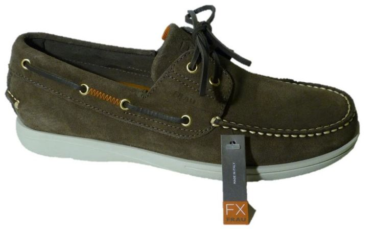 Boat shoes for men, made in Italy by Frau 2015